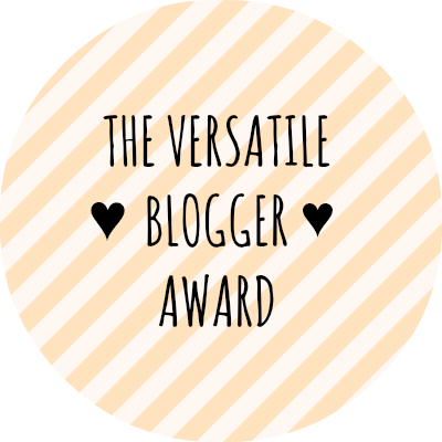 versatile blogger award button